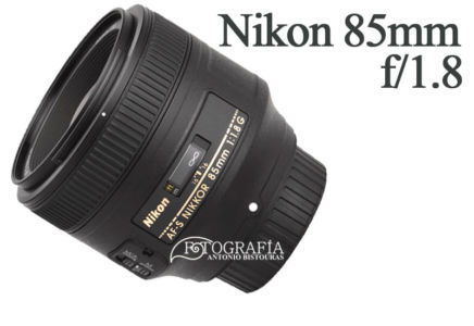 Objetivo Nikon 85mm f/1.8