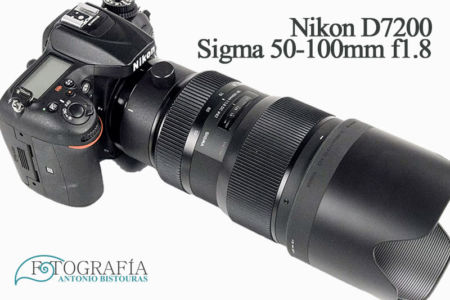 Nikon D7100 DSRL Sigma 50-100