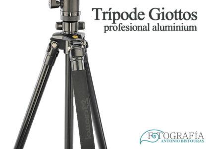 Tripode Giotto Aluminium