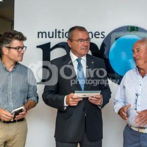Evento - Visita Alcalde de Reus Aniversio MultiOficinas